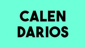 Agustina Guerrero, Calendarios