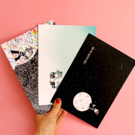Dream, Pack de 3 postales (A5)