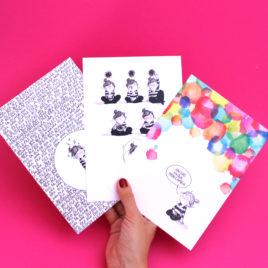 Positive, Pack de 3 postales (A5)
