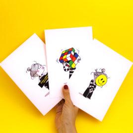 Yo Cuando, Pack de 3 postales (A5)