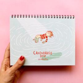 Calendario de mesa Volátil 2018