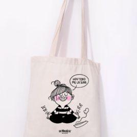 Tote Bag HOY TODO ME LA SUDA
