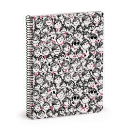 Cuaderno La Volátil, CARAS (pequeño)