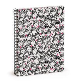 Cuaderno Caras