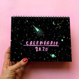 Calendario de mesa Volátil 2020